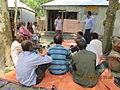 Gathering in a meeting of villagers in an Bangladeshi village 2015 45.jpg