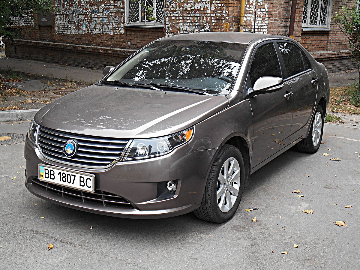 Geely Gc7 Wikipedia