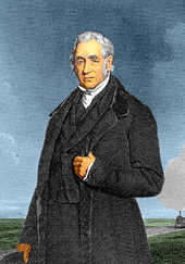 Middle-aged man in a dark suit