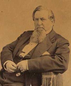 George Washington Cass - George W. Cass, circa 1875