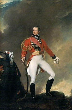 92nd (Gordon Highlanders) Regiment of Foot - Portrait of George Gordon, 5th Duke of Gordon, founder of the regiment, by Thomas Lawrence