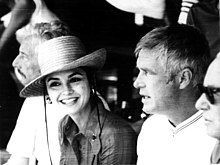 Principal and George Peppard in Fort Lauderdale, Florida