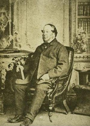 George Shillibeer - George Shillibeer, circa 1863