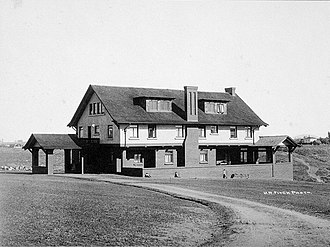 William S. Hebbard - The George W. Marston House, designed by William S. Hebbard and Irving Gill, soon after its construction in 1904.