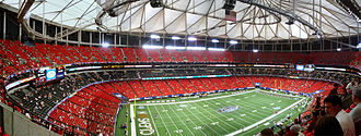 2014 Chicago Bears season - The game was played in the Georgia Dome