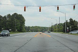 Georgia State Route 280 - Georgia State Route 280 in Cobb County