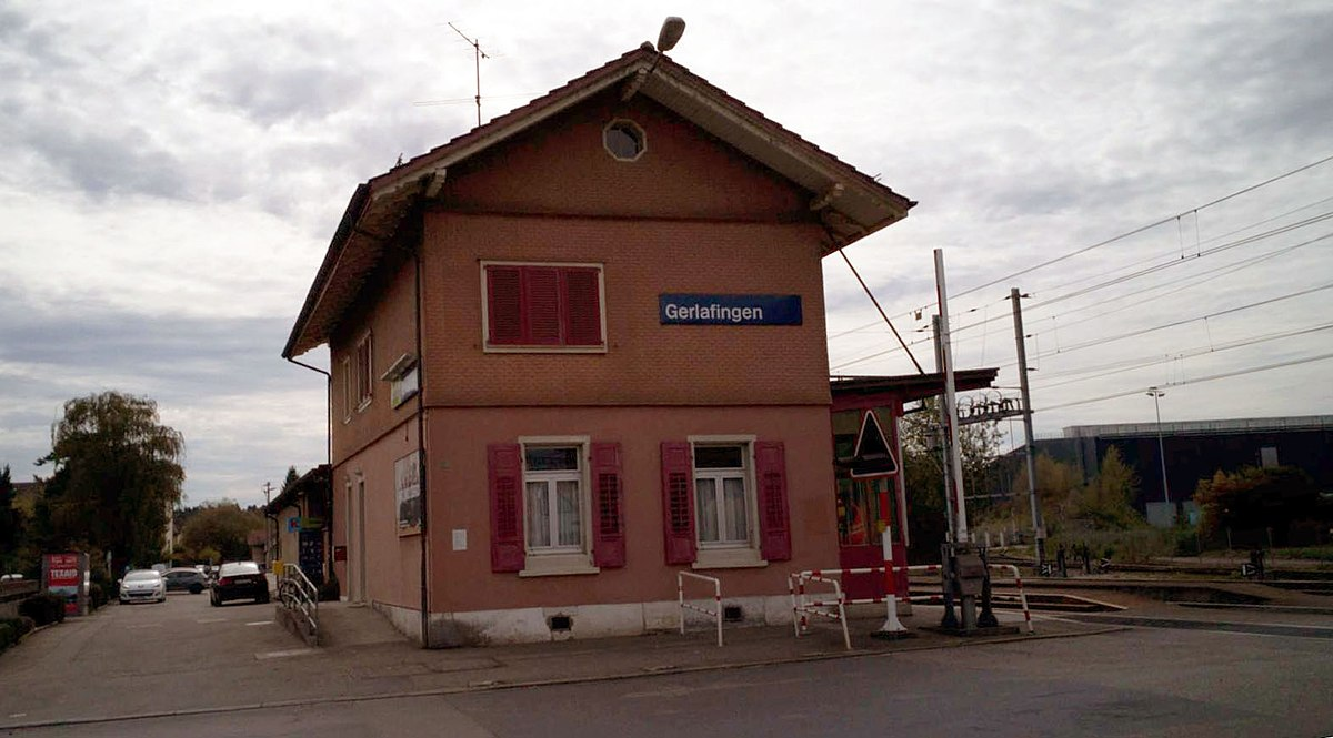 Gerlafingen Railway Station Wikipedia