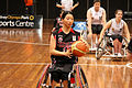 Germany vs Japan women's wheelchair basketball team at the Sports Centre(IMG 3486).jpg