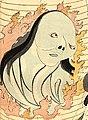Ghost detail, Kuniyoshi The Ghost in the Lantern (cropped).jpg