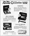 Gillette New Improved razor advert, 1922.jpg