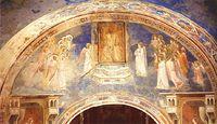 Giotto - Scrovegni - -13- - God Sends Gabriel to the Virgin.jpg