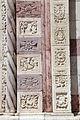 Giovanni di agostino (cerchia), portale laterale del duomo di grosseto 05.JPG