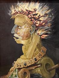 Giuseppe Arcimboldo: The allegory of Fire
