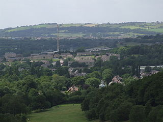Glossop Human settlement in England