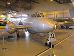 Gloster Meteor T7 1949 (10349786305).jpg