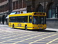 Go North East bus 4891 DAF SB220 Plaxton Prestige S891 ONL Bargain Bus livery in Newcastle 9 May 2009.jpg