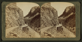 Golden Gate, entrance to picturesque ravine of golden rocks - Yellowstone Park, U.S.A, by Underwood & Underwood 2.png