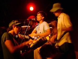 Golden Shoulders - A Golden Shoulders performance in Nevada City, California, in 2003.