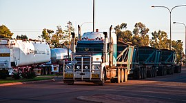 Gone Driveabout 22, Road trains, Mount Magnet, Western Australia, 25 Oct. 2010 - Flickr - PhillipC.jpg