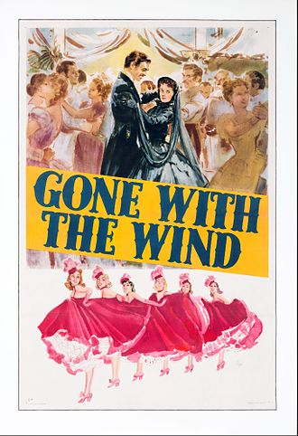 Gone with the Wind (film) - Scarlett and Rhett at the charity dance