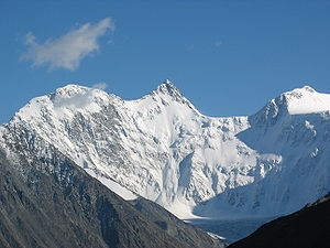 Altai Mountains - Belukha—the highest mountain in Altay and Siberia