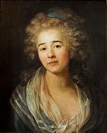 Elisabeth Mara. Gemälde von Anton Graff (um 1790) (Quelle: Wikimedia)