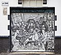 Grafiti en la calle Obispo Rey Redondo, San Cristóbal de La Laguna, Tenerife, España, 2012-12-15, DD 01.jpg