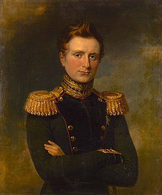 Grand Duke Michael Pavlovich of Russia - Portrait by George Dawe
