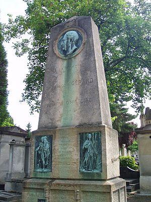 François Gérard - Family tomb in Montparnasse Cemetery