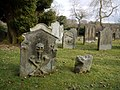 Graveyard, St Andrew's Church, Hartburn - geograph.org.uk - 1753492.jpg