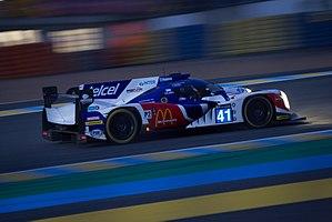 Ligier JS P2 - The Ligier JS P2 of Greaves Motorsport at 24 Hours of Le Mans at Night