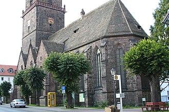 Grebenstein - Image: Grebenstein parish church, 2005