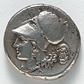 Greece, Corinth, 4th century BC - Stater- Athena (reverse) - 1916.984.b - Cleveland Museum of Art.jpg
