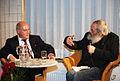 Gregor Gysi im Gespräch mit Harry Rowohlt am 9. Januar in Hannover (8367419140).jpg