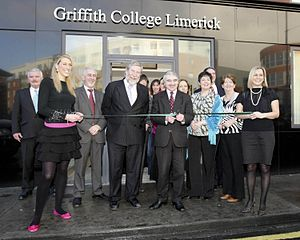 Griffith College Limerick - Griffith College Limerick, Official Opening