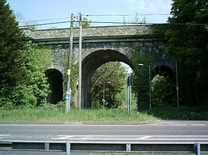 Grimstone Viaduct - From the West