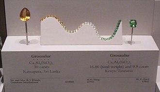 Grossular - Image: Grossular Shades