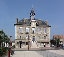 The town hall of Guignicourt