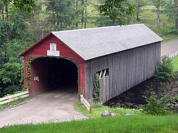 Guilford vermont covered bridge 20040820