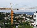 Guindaste de torre refletem o crescimento vertical de Jundiaí Março 2012. - panoramio.jpg