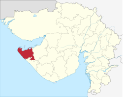Location in Gujarat