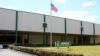 Gulf High School Public school in New Port Richey, Florida, United States