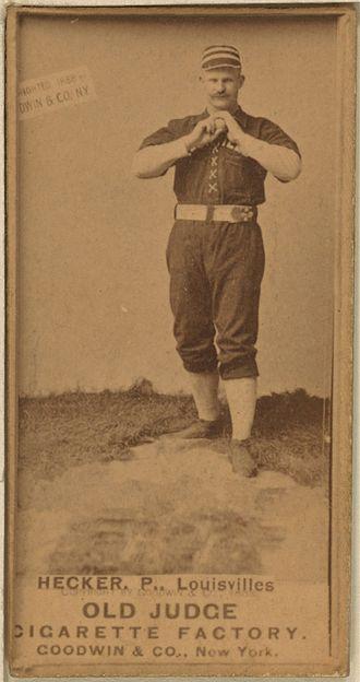 Guy Hecker - Image: Guy Hecker baseball card