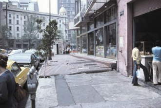 Groundwater-related subsidence - Mexico City subsidence