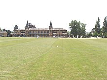 Gymnasium and cricket field, Cheltenham College - geograph.org.uk - 194667.jpg