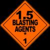 Class 1.5: Blasting Agents