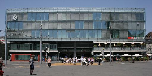 Estación de tren de Berna