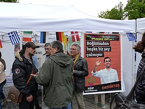 Peoples' Democratic Party (Turkey) - A HDP election stand in Germany, 3 May 2015