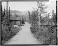 HEADQUARTERS ROAD, LOOKING NORTH - Mount McKinley Headquarters, Cantwell, Denali Borough, AK HABS AK,23-MCKIN,1-1.tif
