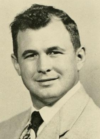 Sid Varney - Varney pictured in Phi Psi Cli 1954, Elon yearbook